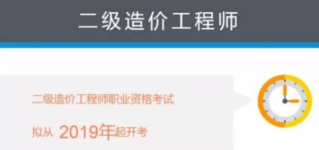 重大消息:2019年湖北省二级造价师职业资格考试公告已出